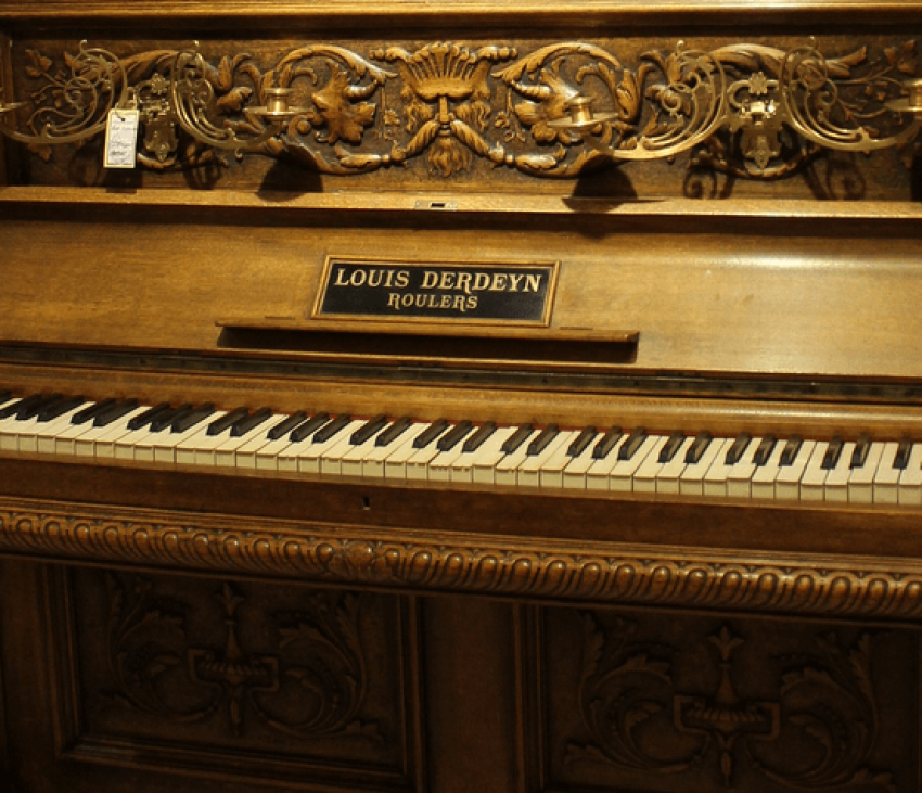 Antique piano oak - photo 3
