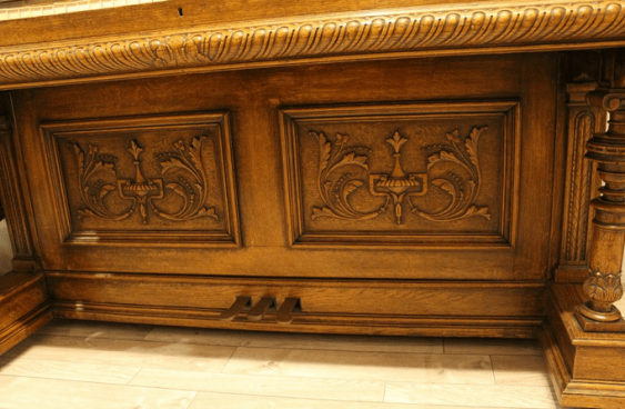 Antique piano oak - photo 6