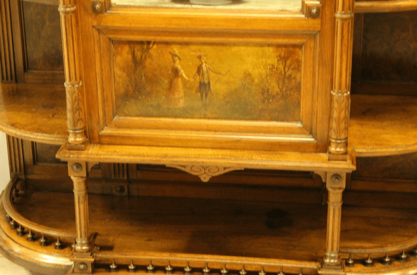Showcase walnut.19th century - photo 3