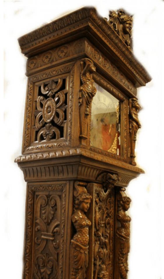 English grandfather clock - photo 2