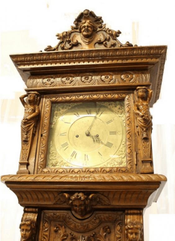 English grandfather clock - photo 5