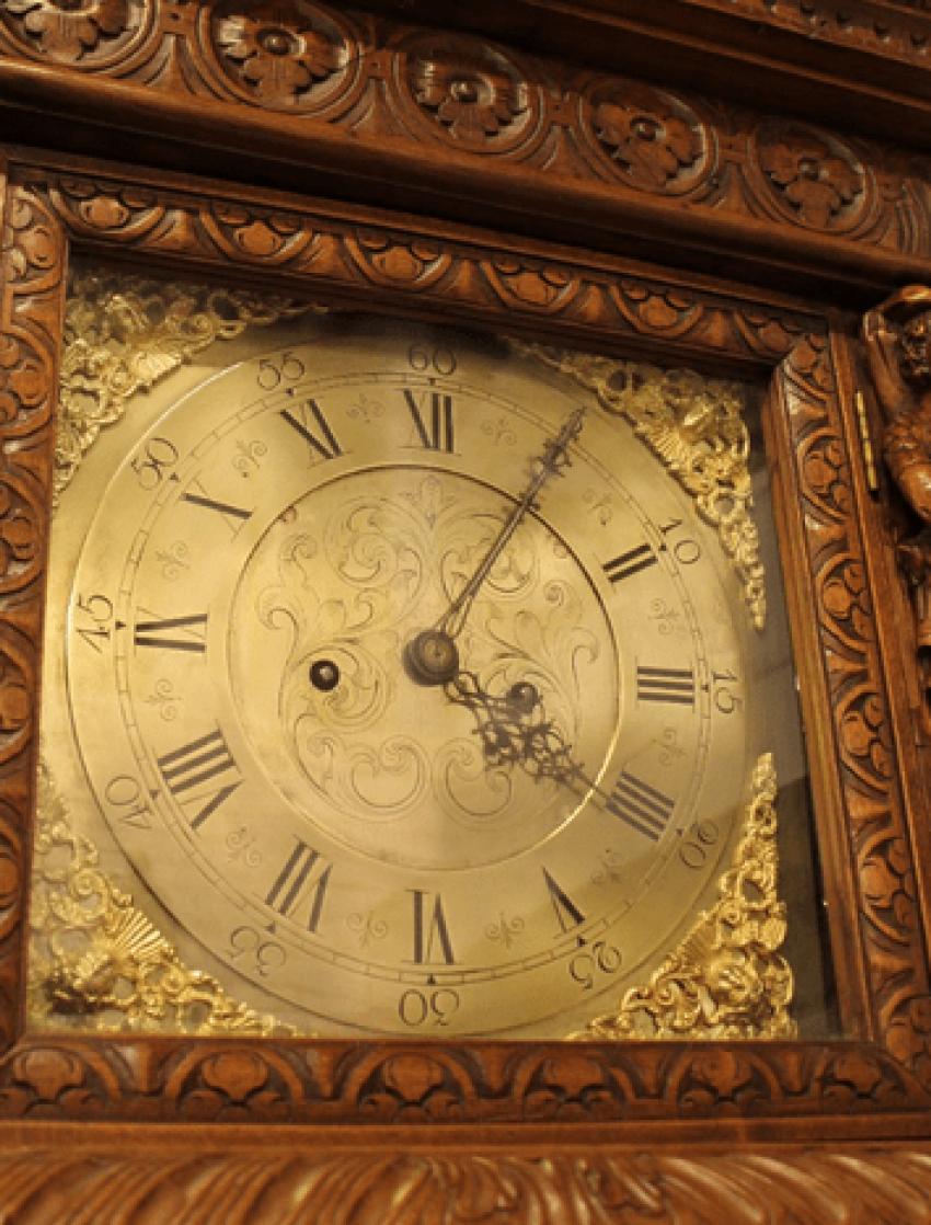 English grandfather clock - photo 6