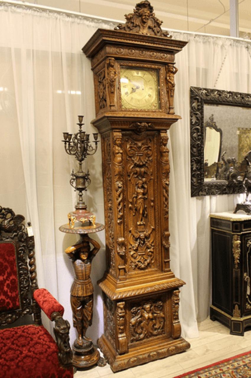 English grandfather clock - photo 1