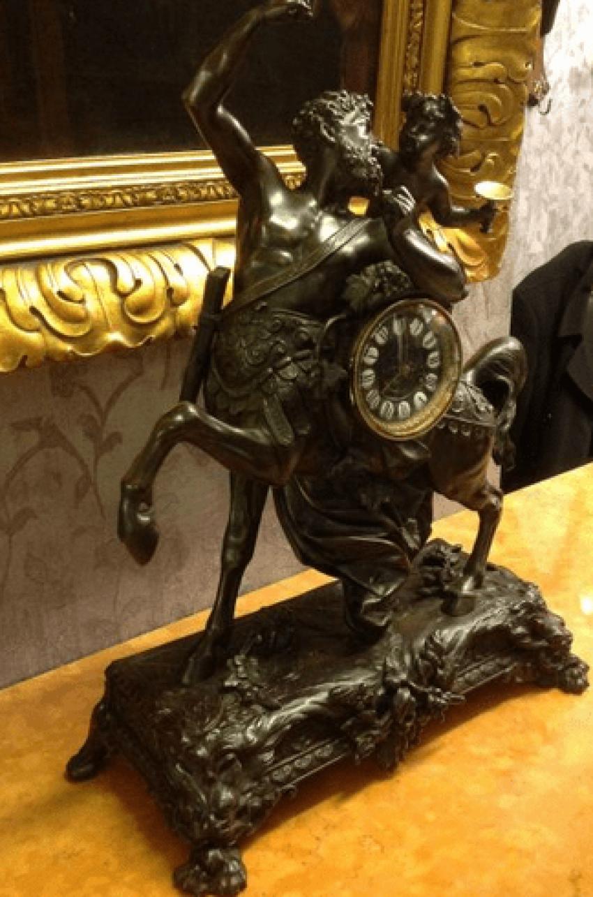 Mantel clock the 19th century Spitr - photo 3