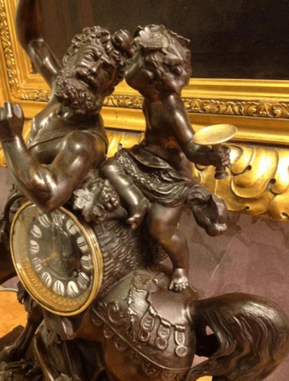 Mantel clock the 19th century Spitr - photo 5