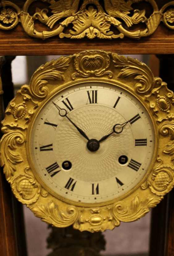 Mantel clock in the Empire style - photo 2