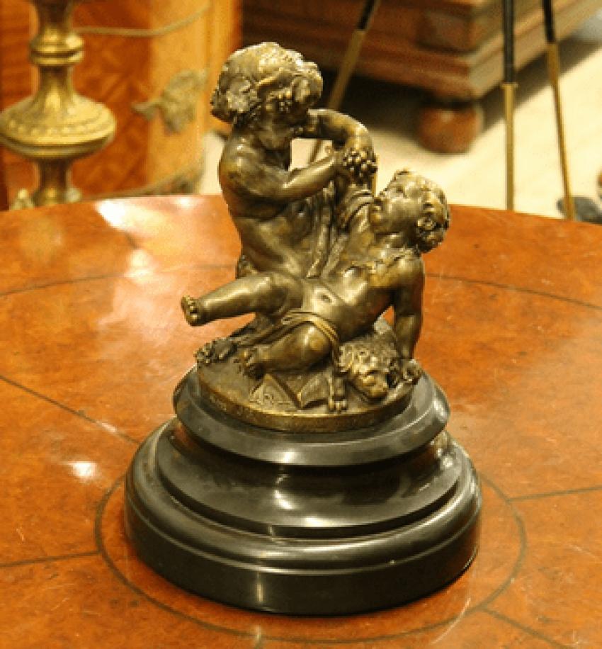 "Bronze sculpture ""Clodion"" - photo 1"