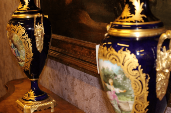Pair of French vases 19th century - photo 7