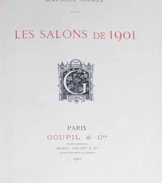 Salons 1901 Les Salons de 1901 - photo 3