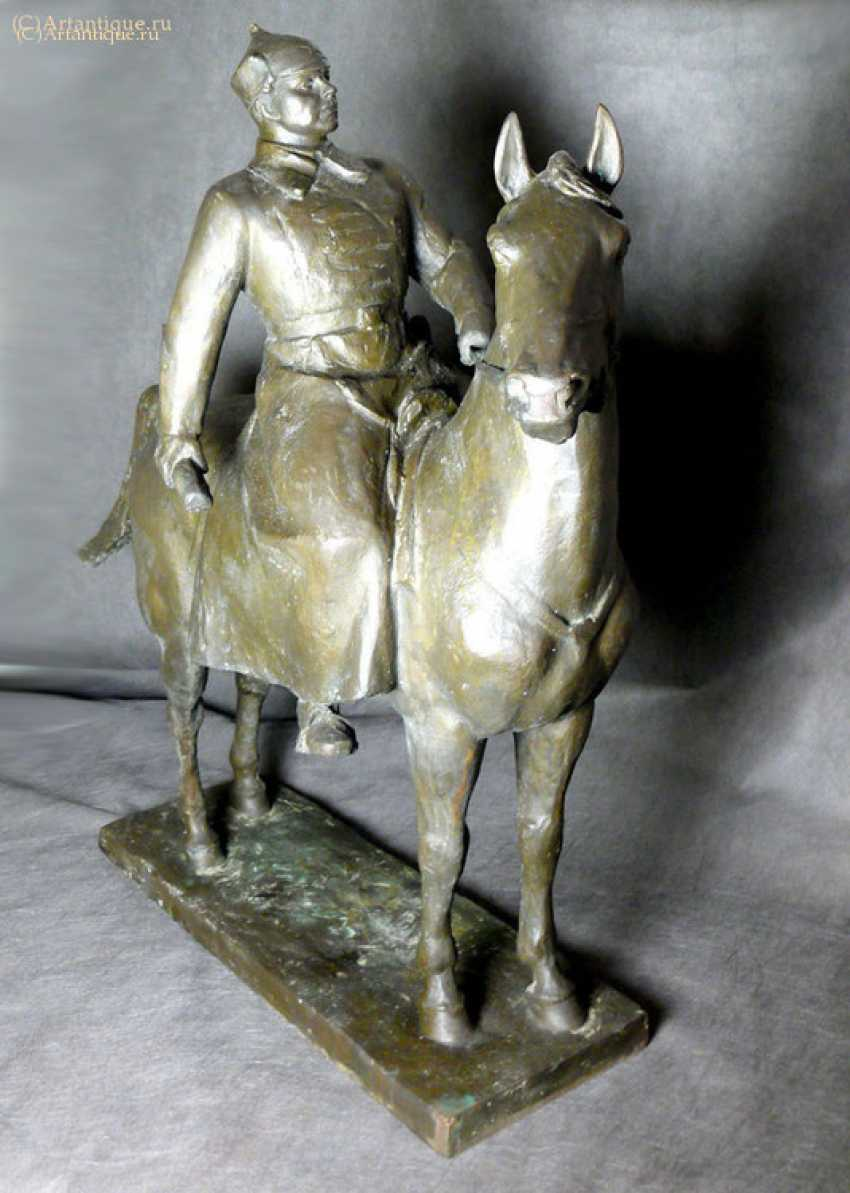 "The sculpture ""Voroshilov on horseback"" - photo 2"