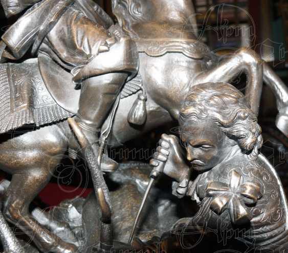 "The sculpture ""Royal hunt"" - photo 8"
