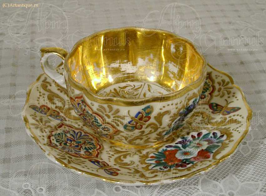 Cup and saucer - photo 2
