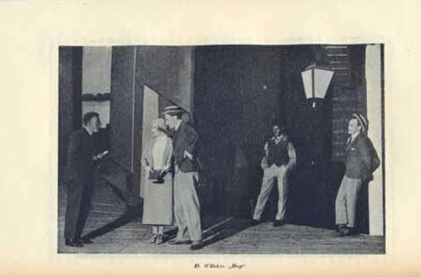 The book is about chamber theatre: (1914-1934) - photo 1