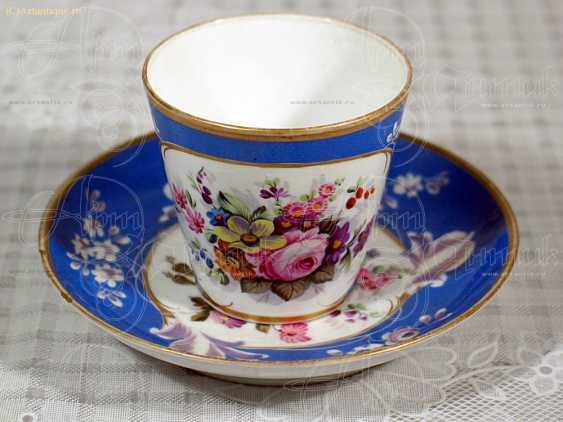Чашка с блюдцем - photo 3