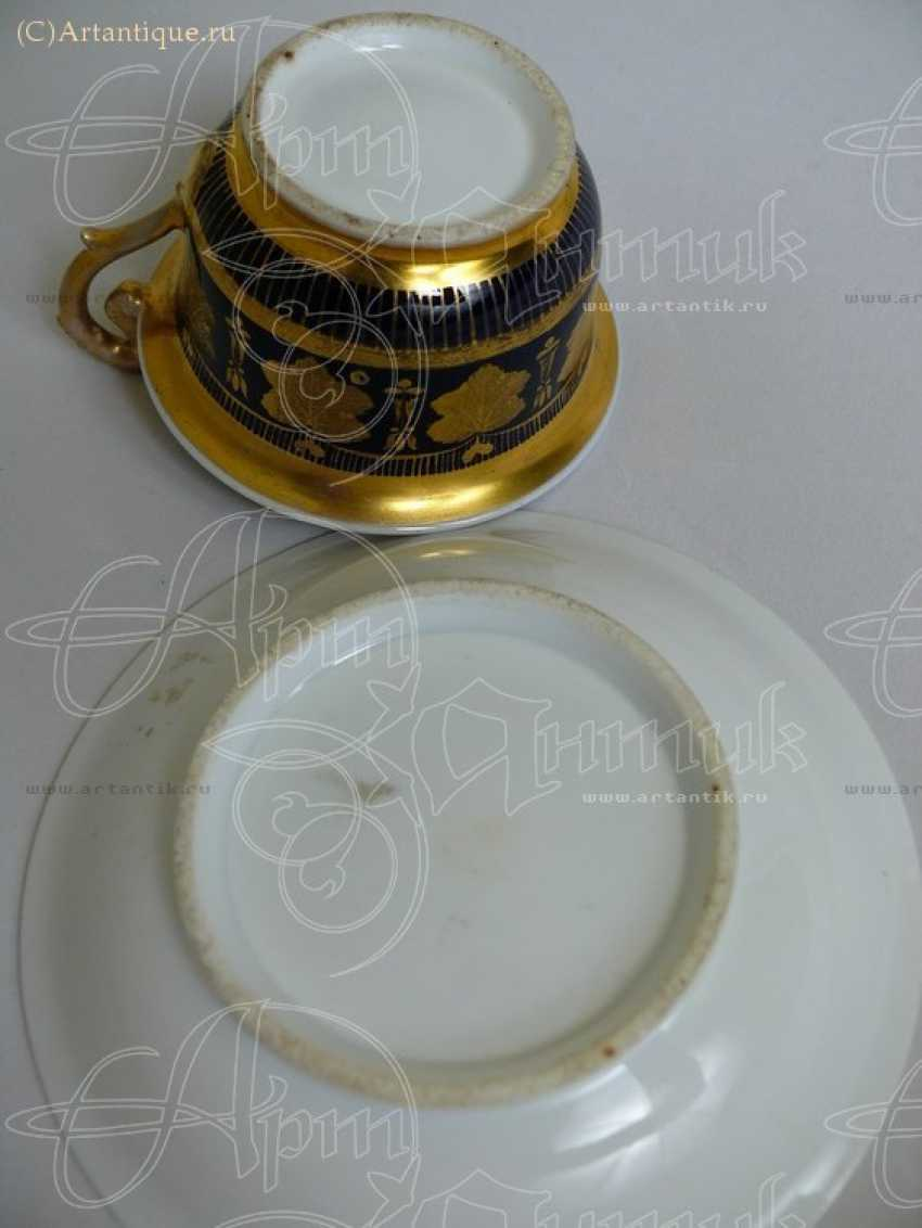 Чашка с блюдцем - photo 2