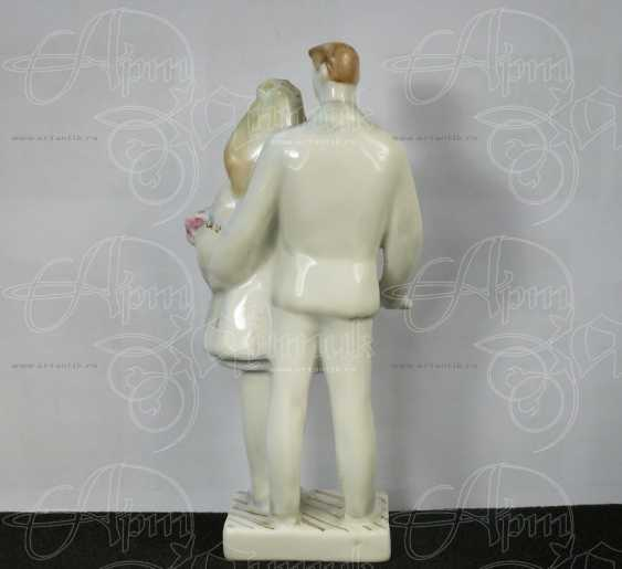 "Figurine ""Newly-Weds"" - photo 2"