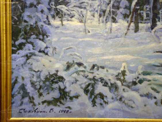 """Картина """"Зима в лесу"""" - photo 2"""