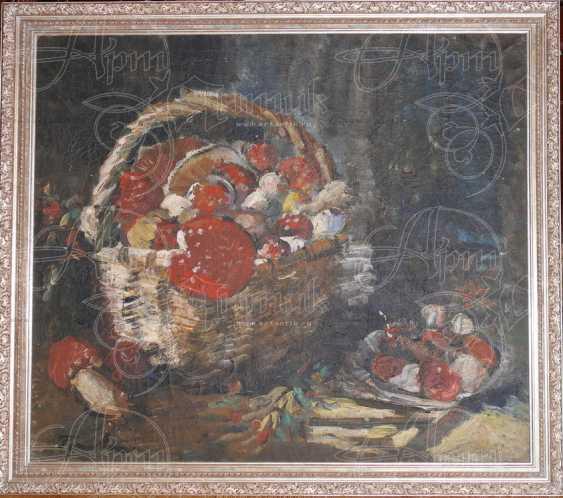 "Натюрморт ""Корзина с грибами"" - photo 1"