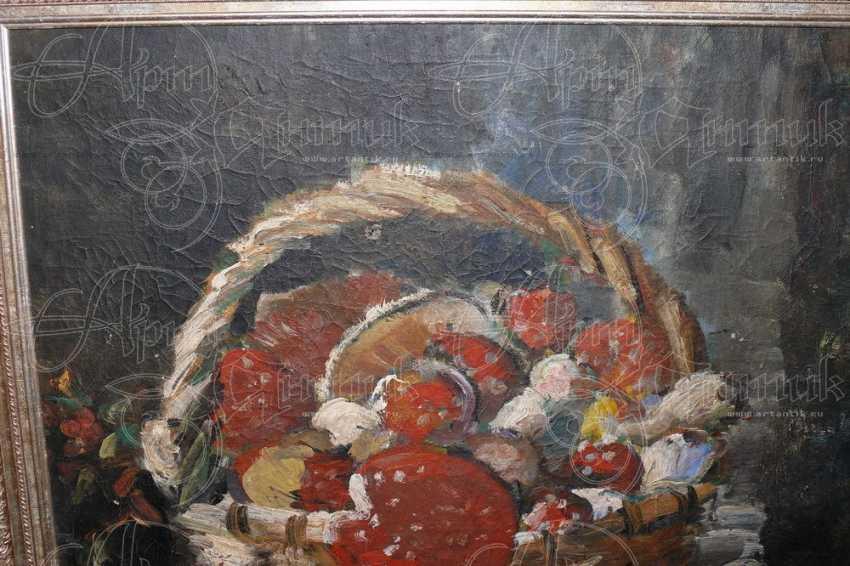 "Натюрморт ""Корзина с грибами"" - photo 2"