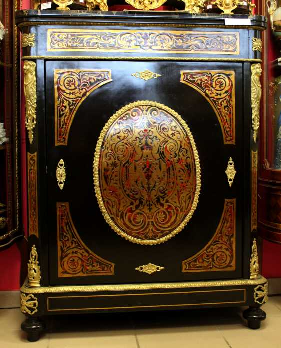 "Commode in the style of ""Boulle"" XIX century - photo 1"