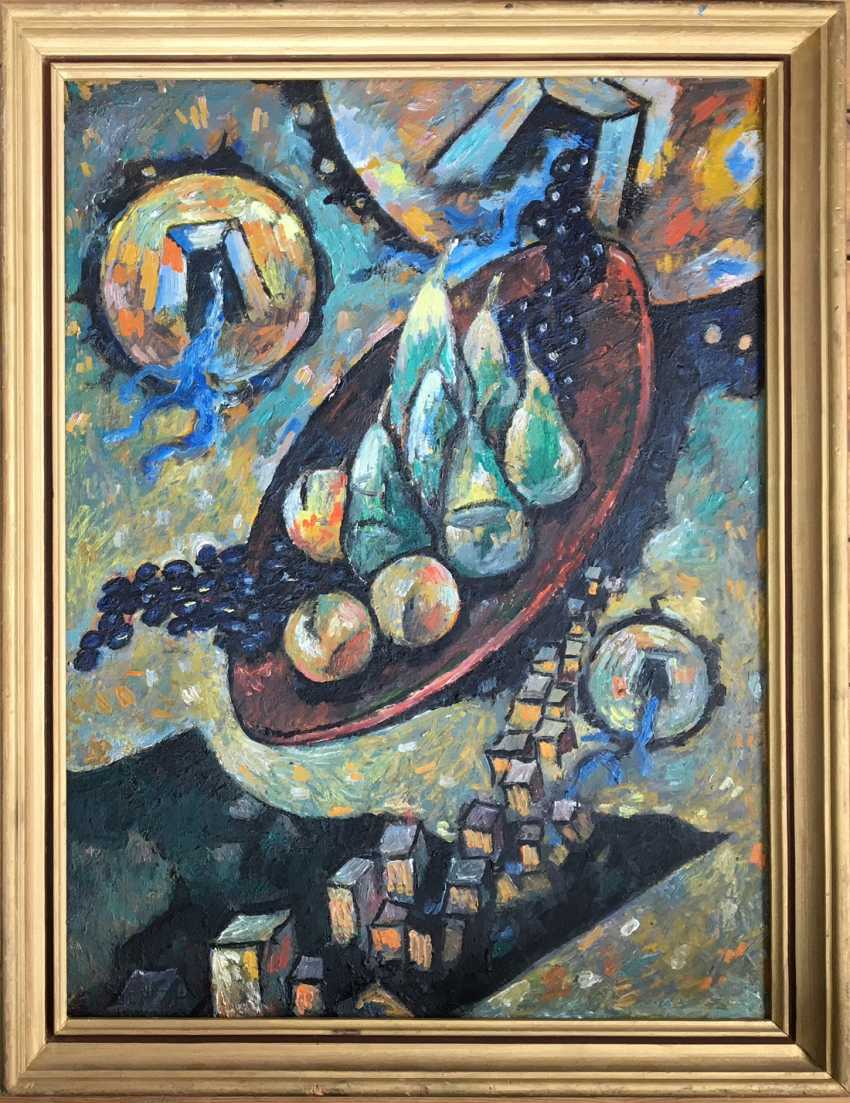 """The painting """"still life with pears"""". A. M. Kischenko - photo 1"""