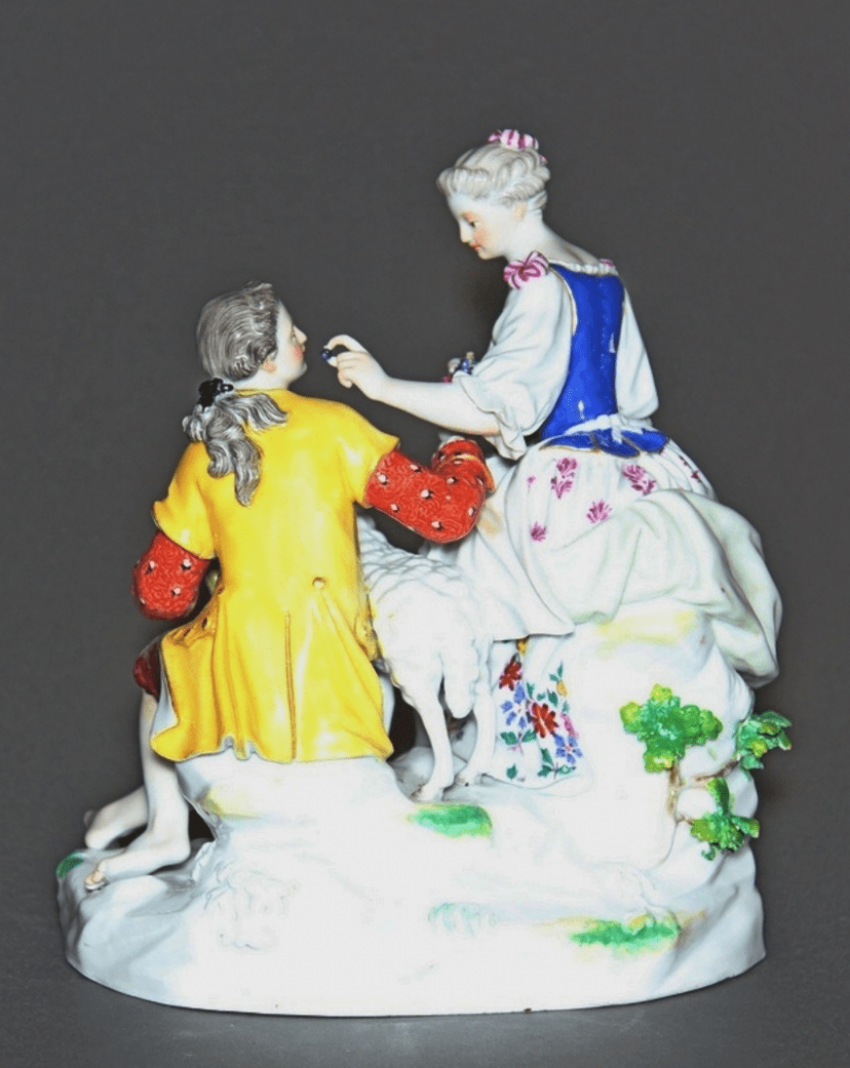 Meissen, Germany, late XIX century, model 1769, author Michelle Victor issue year - photo 2