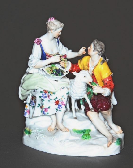 Meissen, Germany, late XIX century, model 1769, author Michelle Victor issue year - photo 1