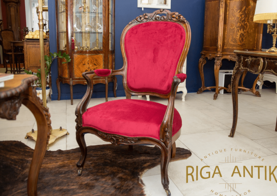 Antique chairs made 19./20 - photo 4
