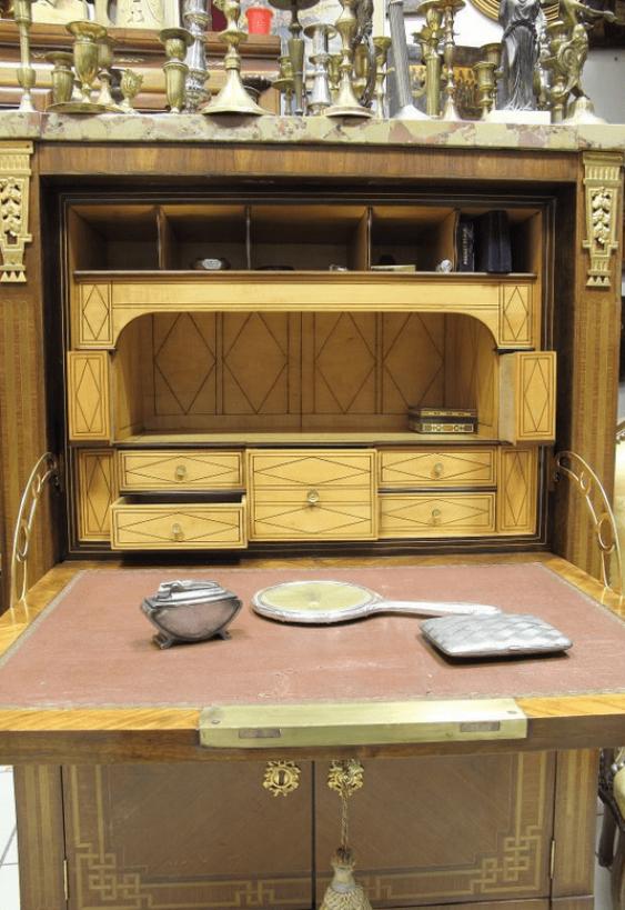 Antique Bureau .England 1850 - photo 2