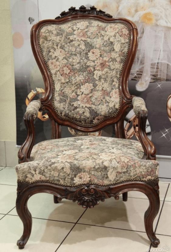 Антикварное кресло - photo 1