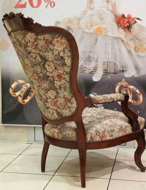 Антикварное кресло - photo 2