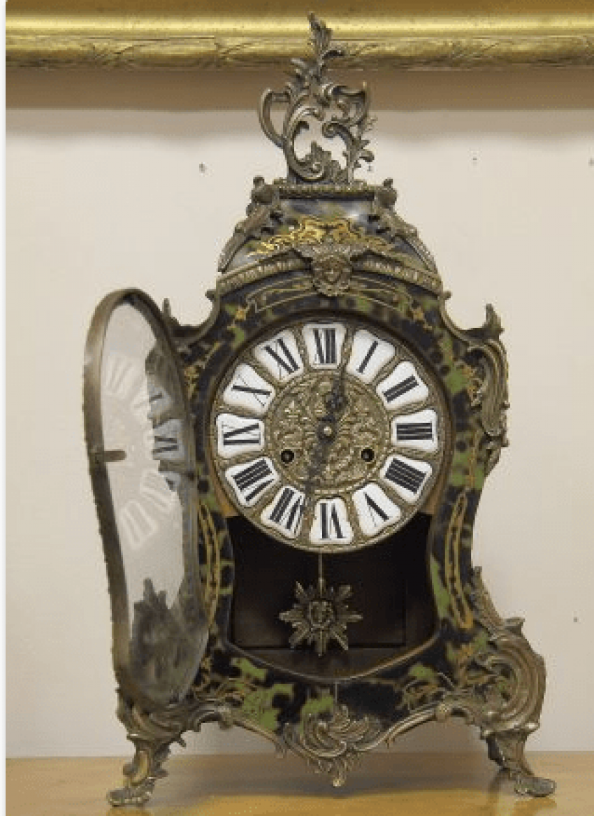 Mantel clocks Boulle France 1860 - photo 3