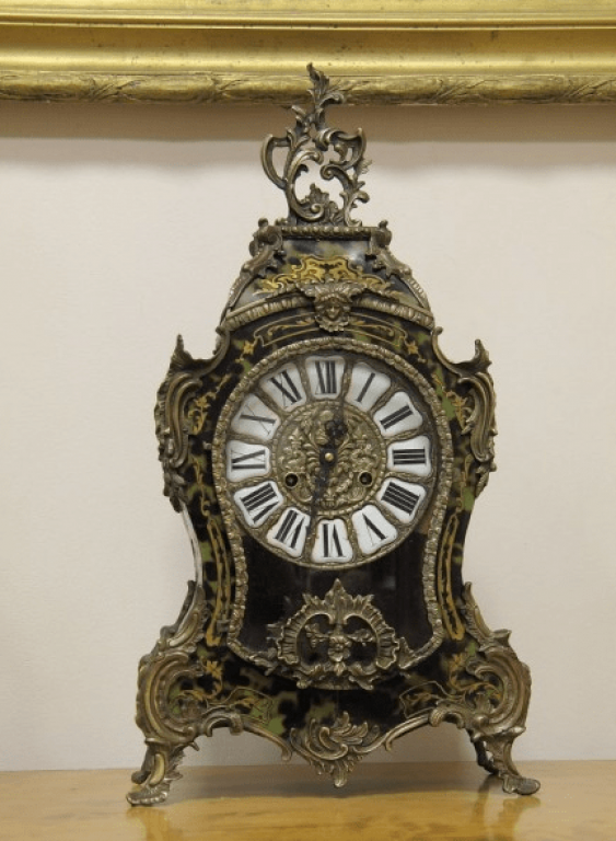 Mantel clocks Boulle France 1860 - photo 1