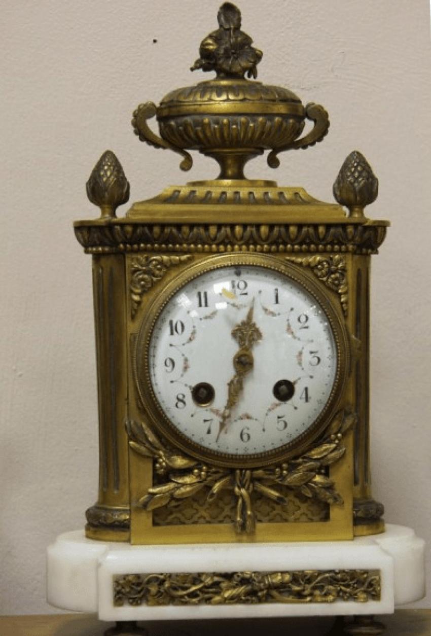 каминные часы Франция 1890- - photo 2