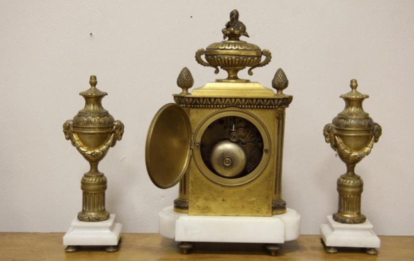 каминные часы Франция 1890- - photo 3