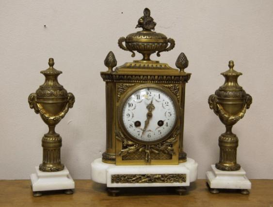 каминные часы Франция 1890- - photo 1