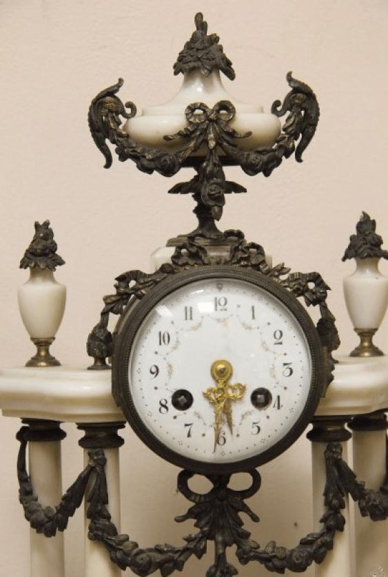Часы каминные Париж 1900г - photo 2