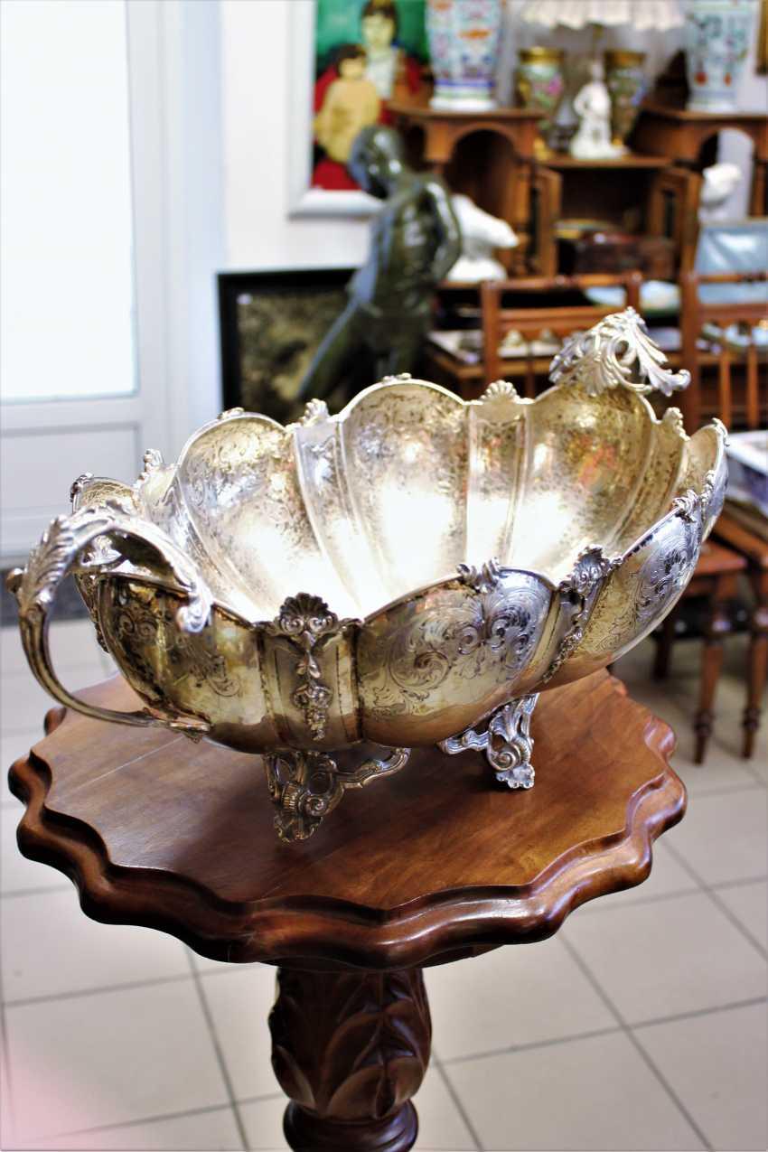 Silver bowl, 19th / 20th century - photo 2