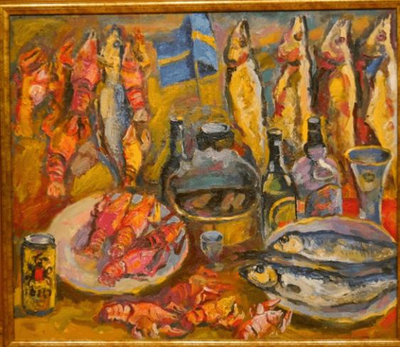 The feast of herrings.In.Korbakov - photo 1