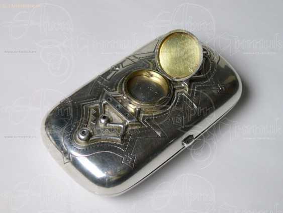 """Cigarette case """"In memory"""" - photo 2"""