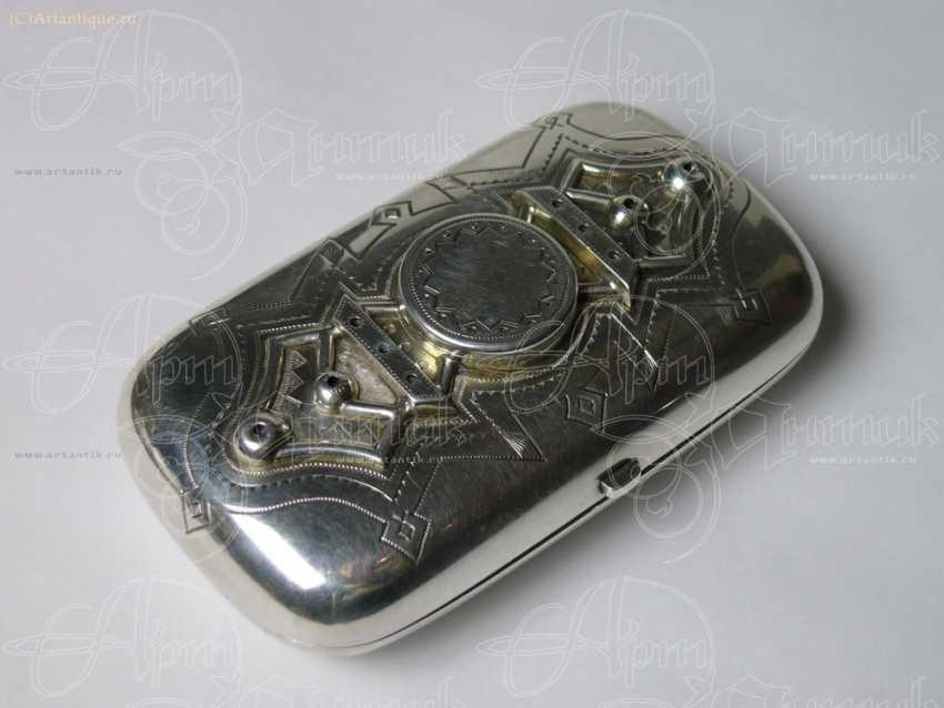 """Cigarette case """"In memory"""" - photo 3"""