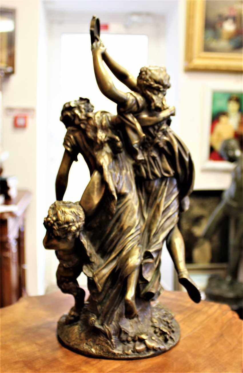 "Bronze sculpture ""Dancing Bacchante and Faun"", 1762. - photo 3"