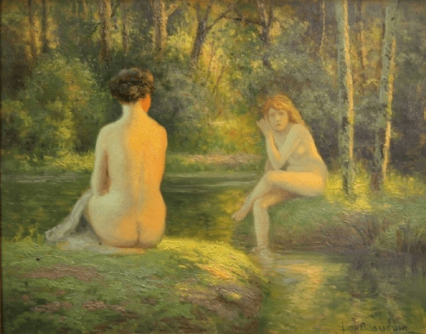 Nude in the greenery of Jean Bodin - photo 1