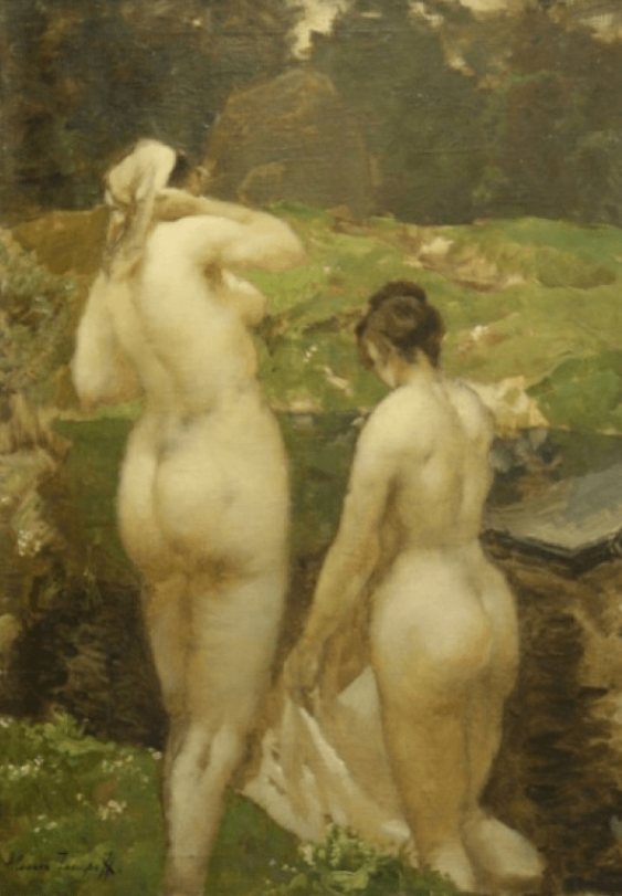 Two bathers - photo 1
