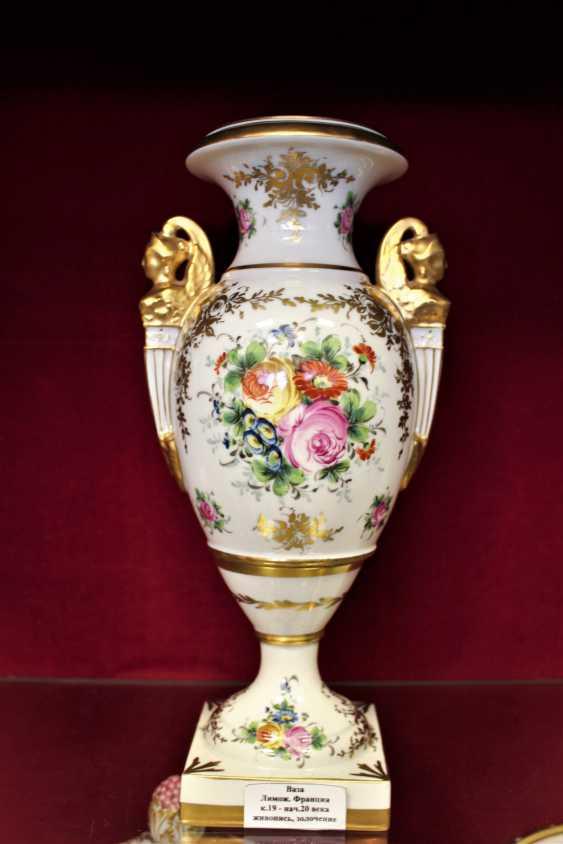 Vase. Limoges, XIX century - photo 2