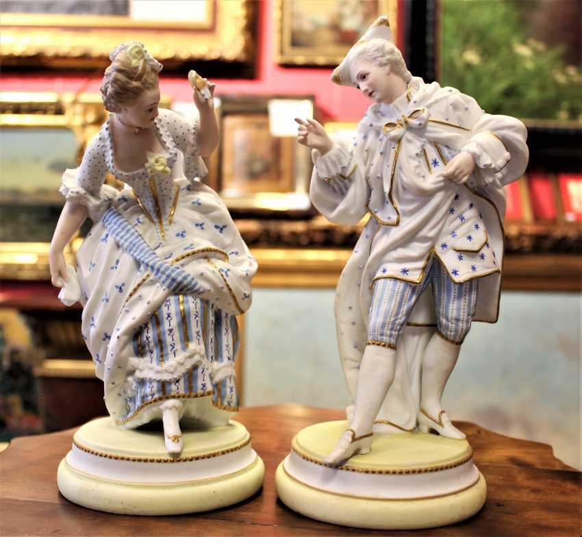"Sculpture ""Couple dancing"". Italy, XIX century - photo 1"