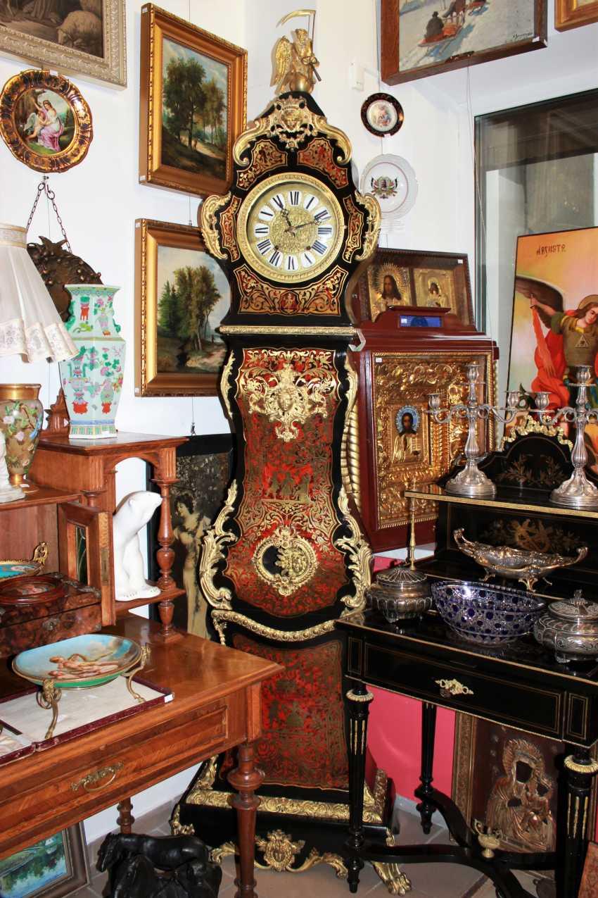"Clocks in the style of ""Boulle"", XVIII century - photo 9"