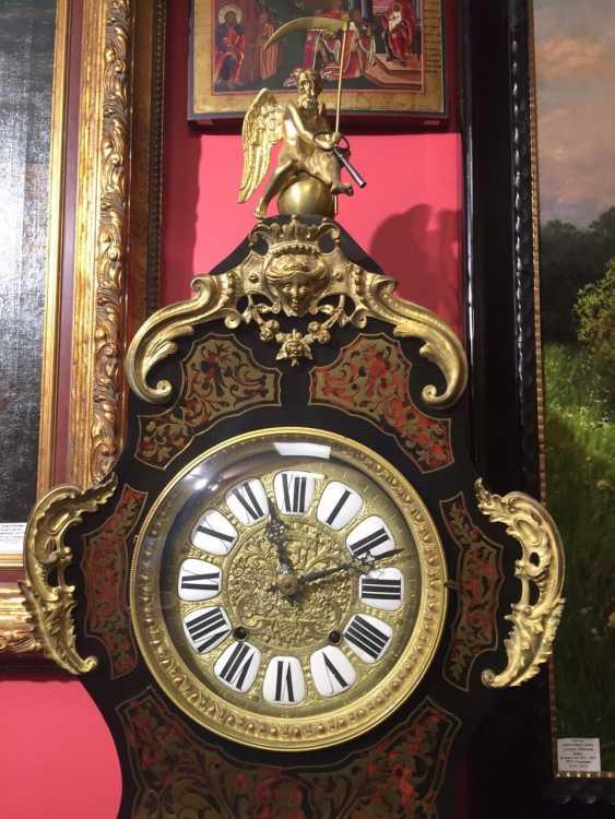 "Clocks in the style of ""Boulle"", XVIII century - photo 2"