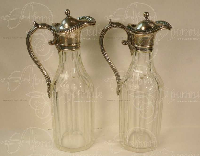 Decanters pair for sauces - photo 1