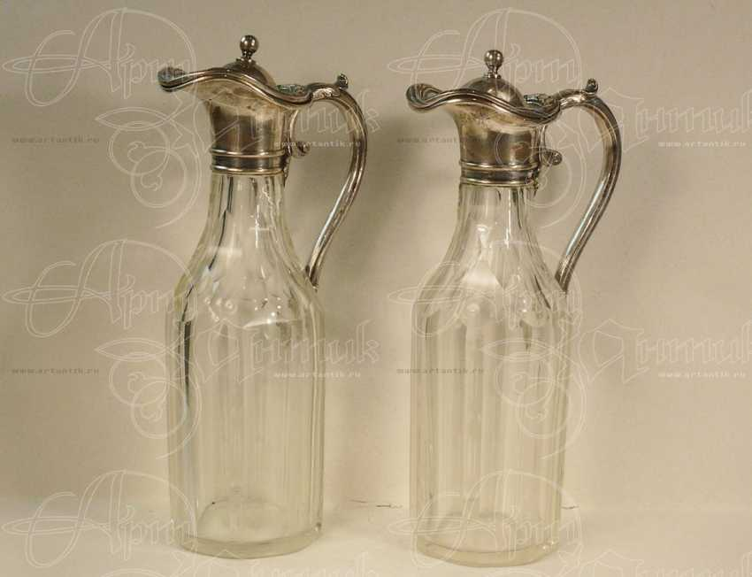Decanters pair for sauces - photo 2